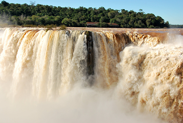 Iguazu Falls (Fond noir)