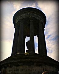 Memorial to Dugald Stewart,   Princes St Edinburgh