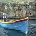 Malta Blue Caves visit 1997