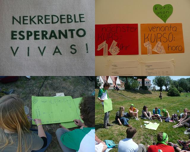 Evangelischer Kirchentag in Dresden - Junge Esperantisten - junaj geesperantistoj