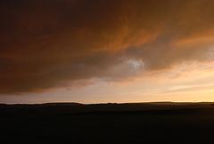 Queensbury sunset
