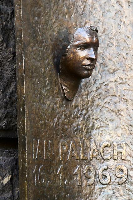 Jan Palach Memorial, Prague