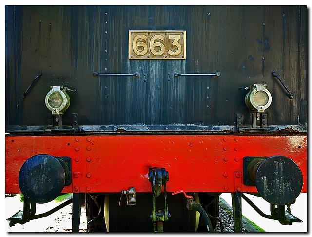Lokomotive 663 (Hanomag 1921)