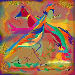Fantasía de aves