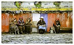 Tibetan grannies