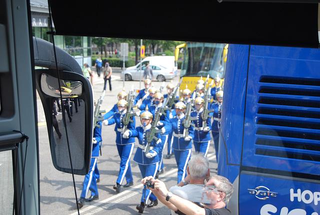 Stockholm..... la garde