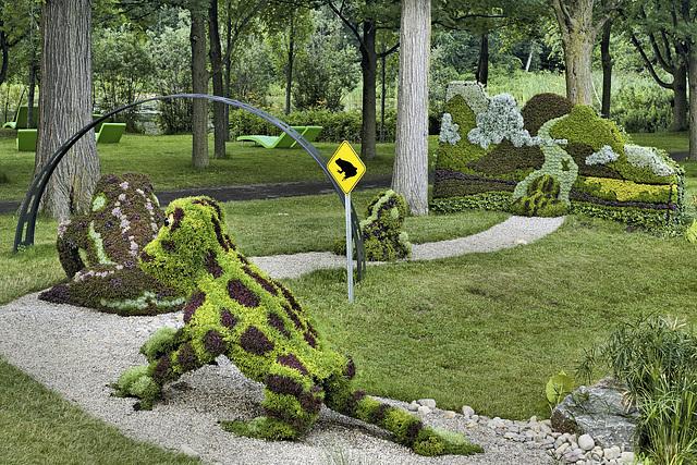 Frog Tunnel – Mosaïcultures Internationales de Montréal, Botanical Garden, Montréal, Québec