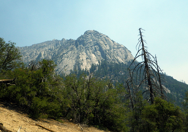 Suicide Rock on a smoky day (0067)