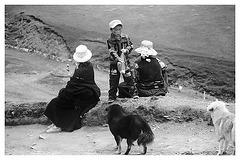 Resting Tibetans