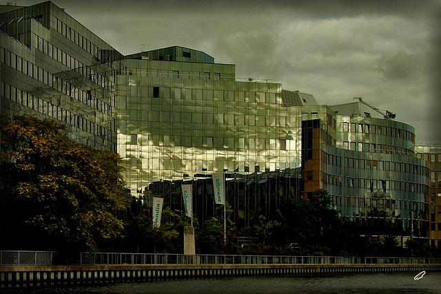 berliner gesicht vom wasser gesehen#