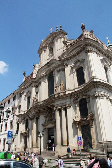 Eglise Saint Nicolas - Place de Mala Strana
