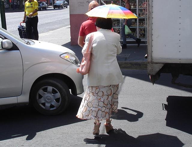 Guadalajara, Jalisco. Mexique / 19 mars 2011   - Recadrage aux visages coupés