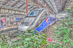 TGV Pos en Gare de Lyon