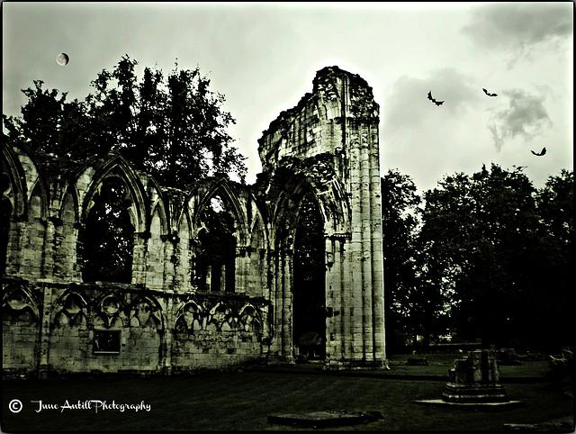 Twilight at St Mary's Abbey