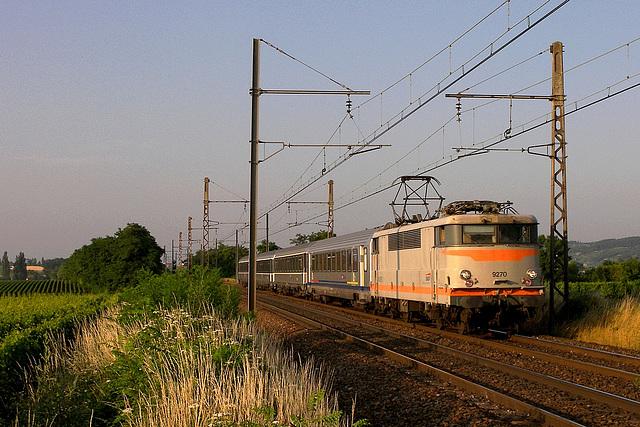 Dernier train pour la BB 9270