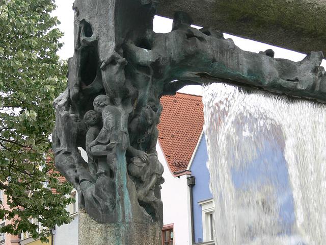Brunnen am Unteren Marktplatz in Weiden