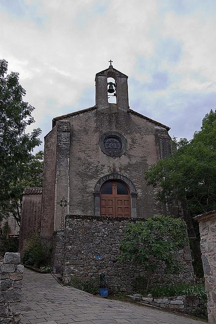 20110531 4769RWwf Kirche Navacelles [Cirque de Navacelles]