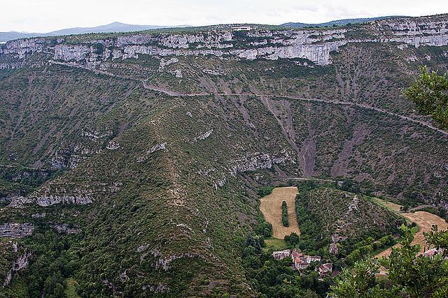 20110531 4755RAw [F] Altes Flussbett Fluss Vis[Cirque de Navacelles]