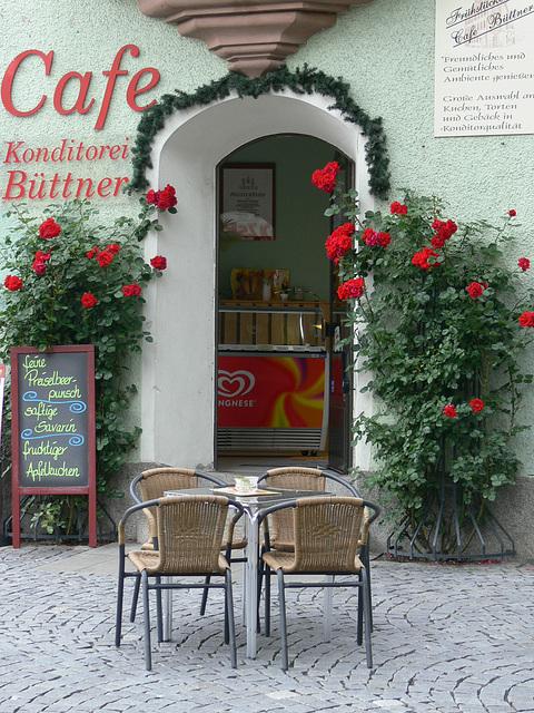 Cafe in Weiden