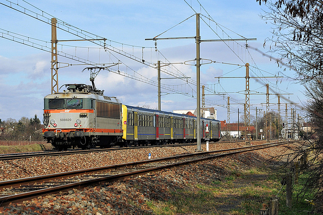 BB 8500 grande cabine en Bourgogne