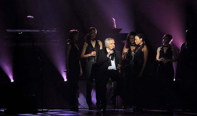 Michel Sardou en concert à l'Olympia