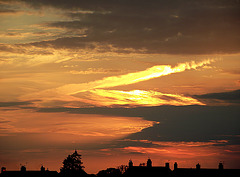 Sunset over West lynn