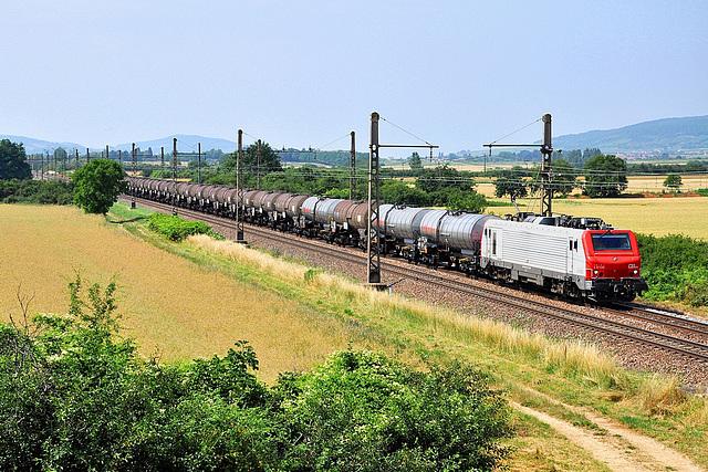 CB Rail rouge sur la PLM