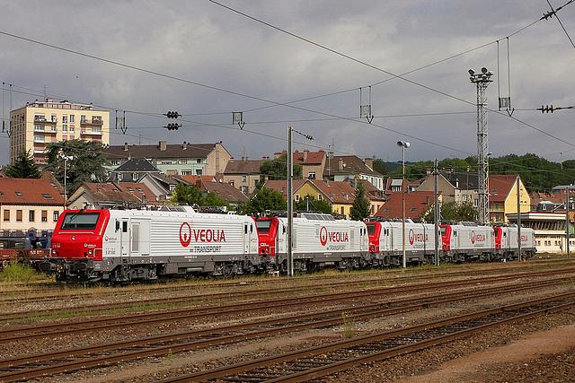 Rassemblement de 37500 Veolia à Belfort