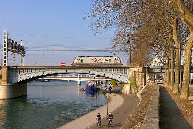 Veolia sur le Rhône