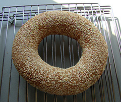 Floating Sesame Bread Ring
