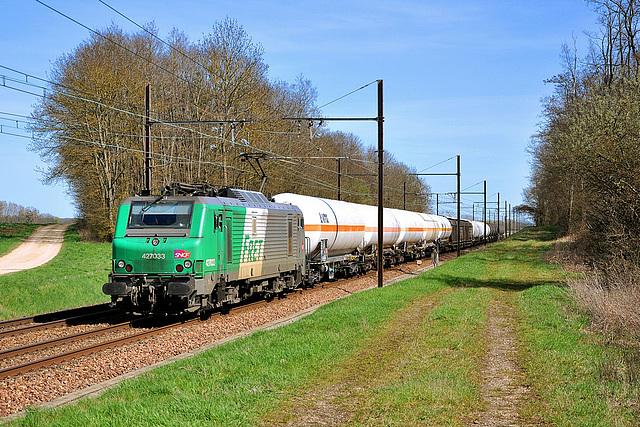 Fret entre Dole et Dijon