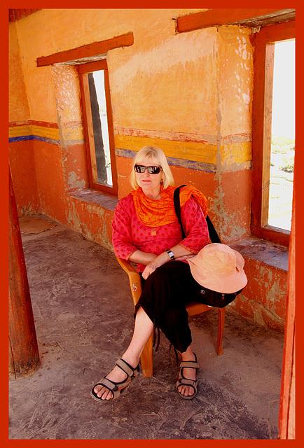 Diana in Ladakh