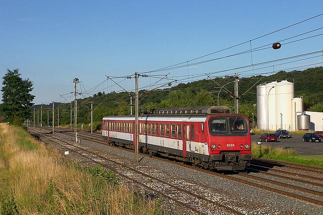 Z2 rouge à Clerval