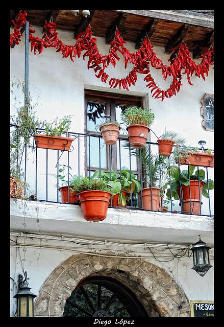 Balcon en Cazorla (Jaen)