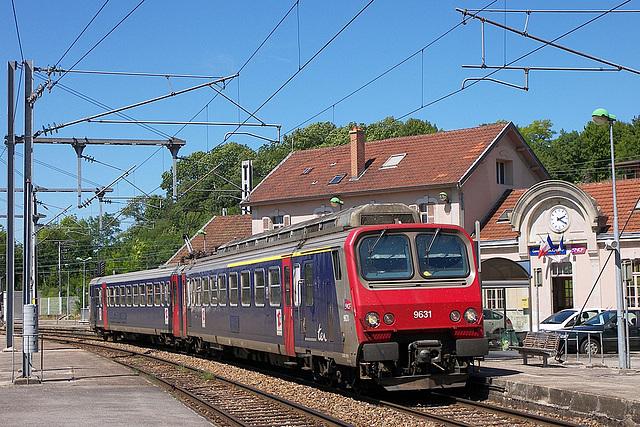 Z 9631 à Mouchard