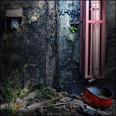 α = 0,05 (the rainwater pipe jail)