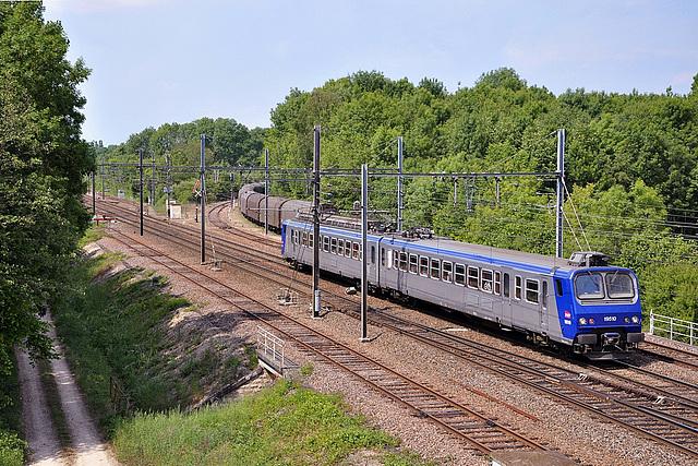 Z2 en livrée bleu-gris TER