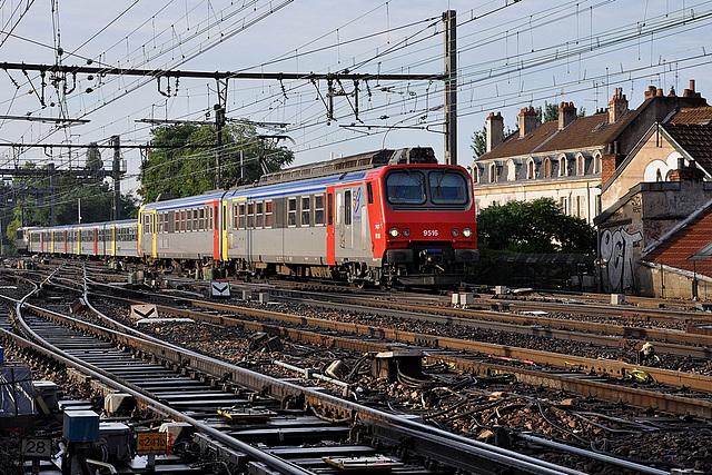 Deux TER pour Dijon-Ville