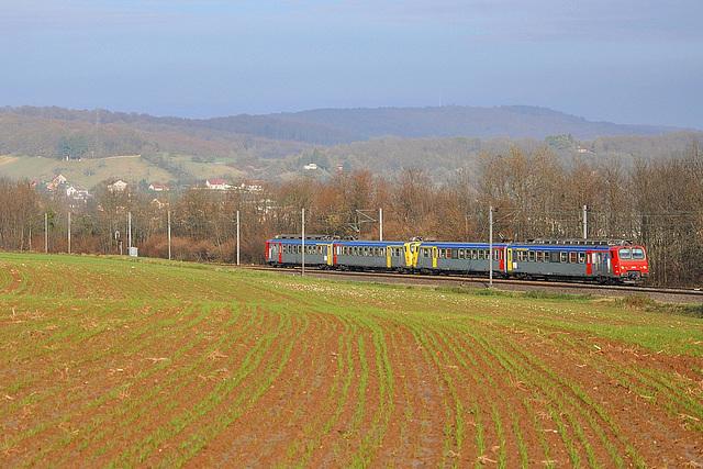 Doublette de Z2 Bourgogne dans le Doubs