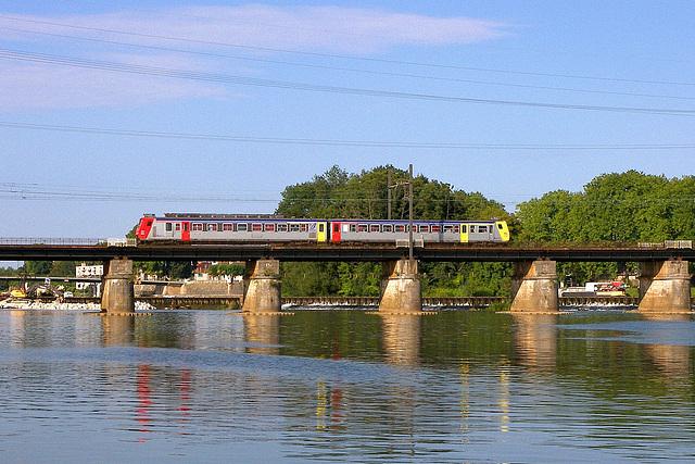 Z2 sur la Saône