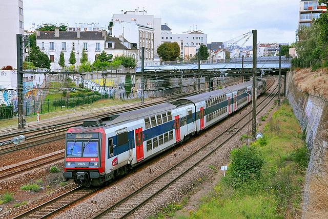 RER D à Charenton