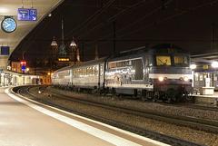 BB 67627 de nuit à Dijon-Ville