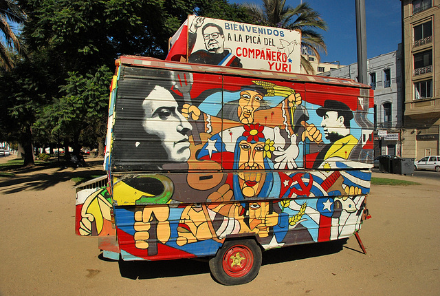 Valaparaiso. Food and politics