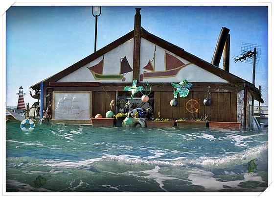 Haus im  Meer :-) (chiche)
