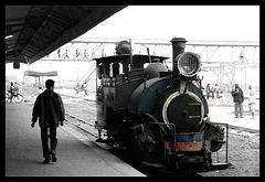 Darjeeling-Himalaya Mountain Railway. Siliguri Junction.