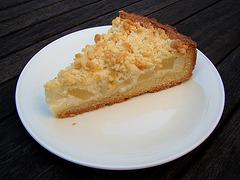 Pear & Sour Cream Pie