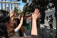 15 M Granada . Manifestación del sábado. Algo está pasando...