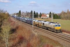 Deux Class 77 sur la Grande Bresse