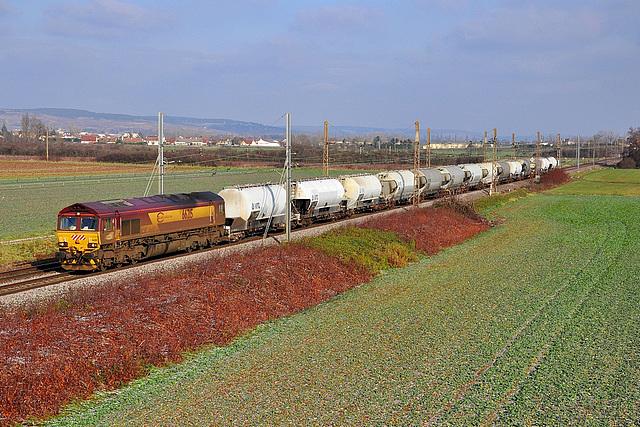 Class 66 en Bourgogne