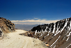 India: At Khardung La 5,602 meters